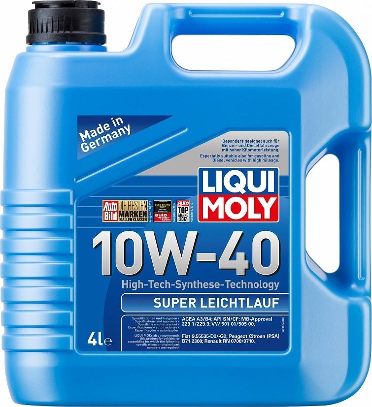 LIQUI MOLY Масло моторное Super Leichtlauf 10W-40  4L