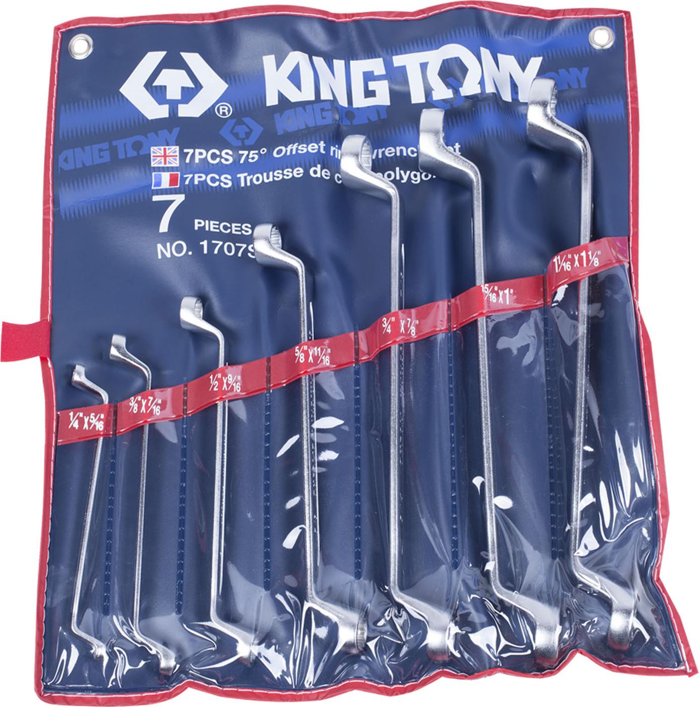 Набор ключей KING TONY 1707SR