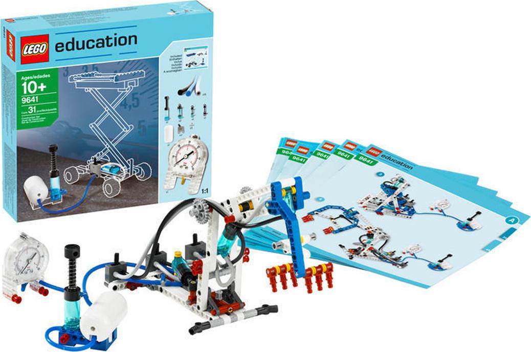 LEGO 9641Образовательное решение Пневматика Это образовательное решение в сочетании с набором «Технология...