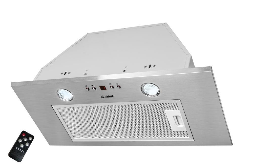 Вытяжка кухонная Grand Corsa RC (60, нержавеющая сталь) Два мощных LED светильника отлично освещают все рабочее пространство...