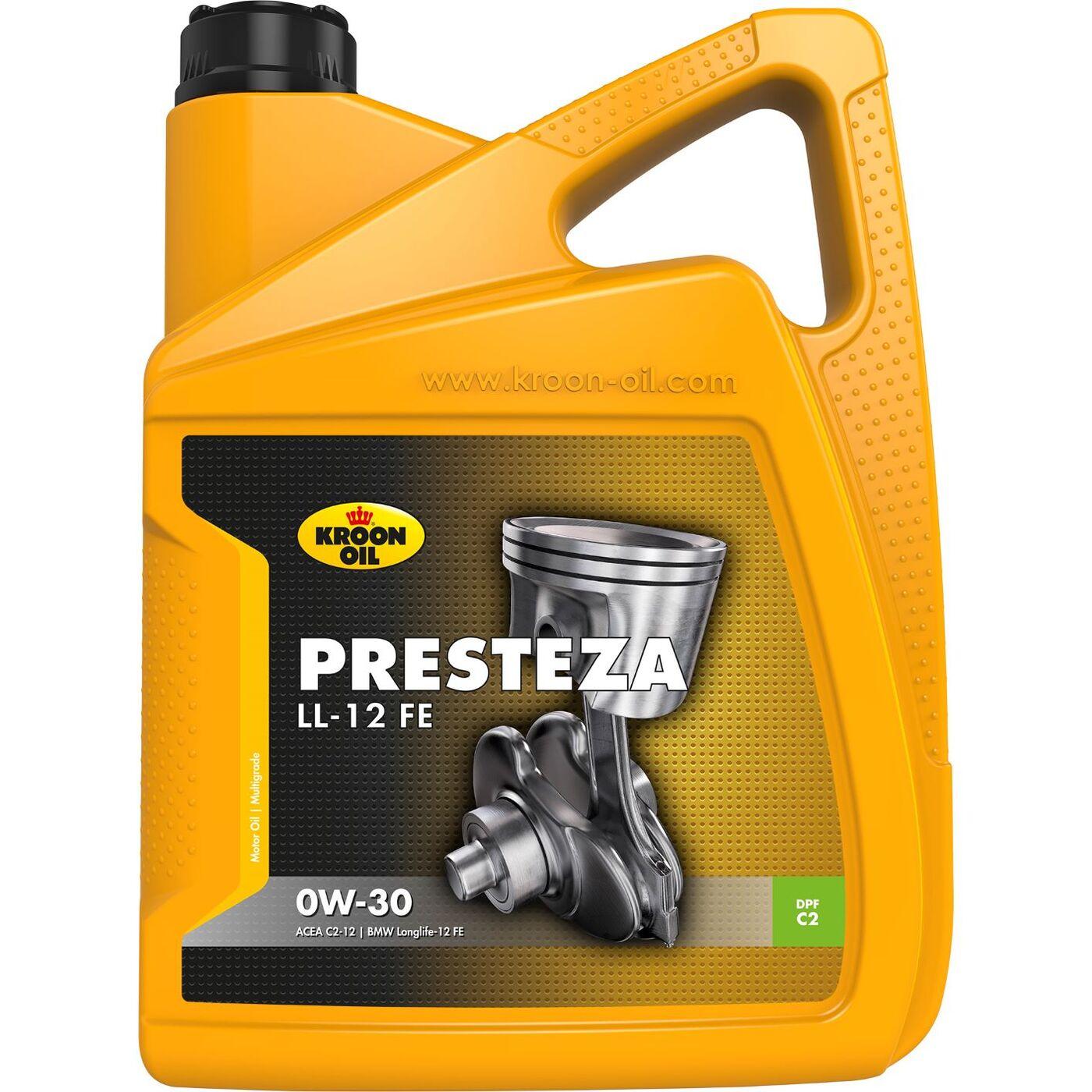 Масло моторное Kroon-oil PRESTEZA LL-12 FE 0W-30