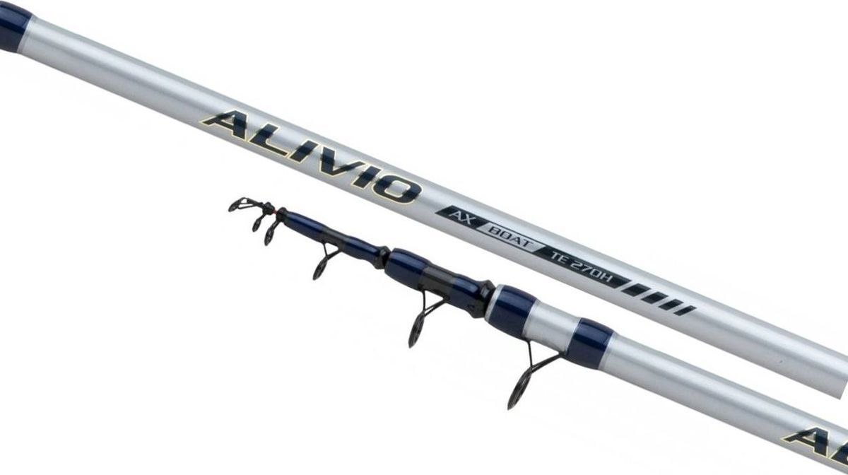 Удилище Shimano Alivio AX Tele Boat 270 H, ALVAXBTTE27H, 150 г, 2,7 м