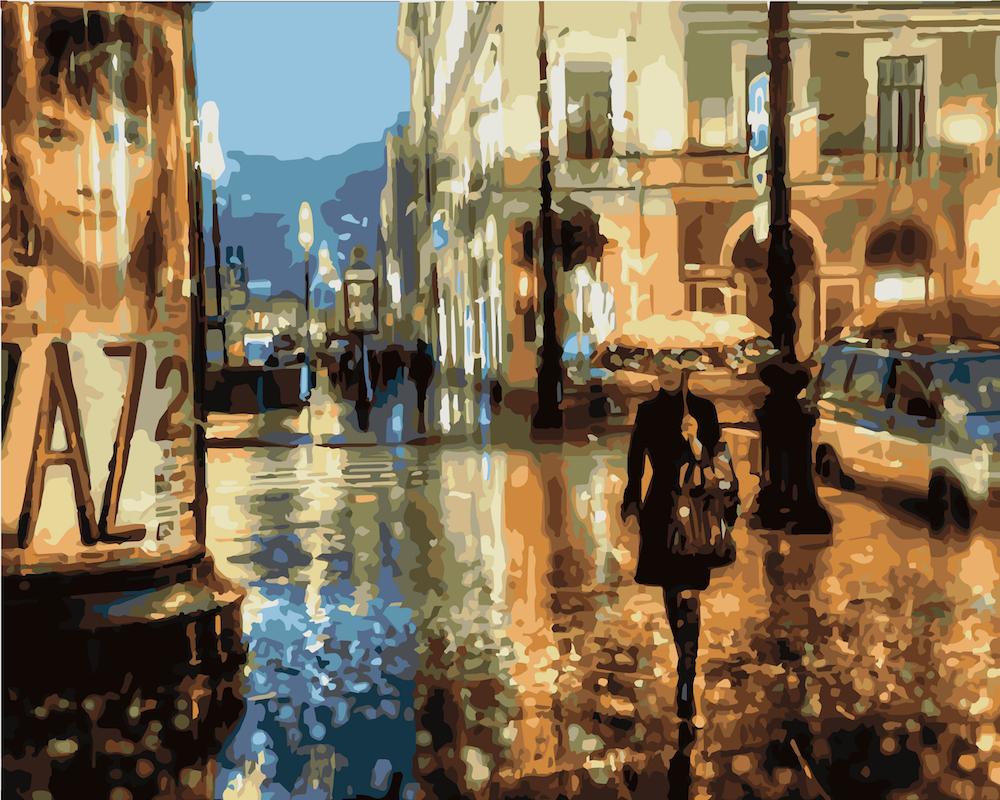 Прогулка по улице в картинках