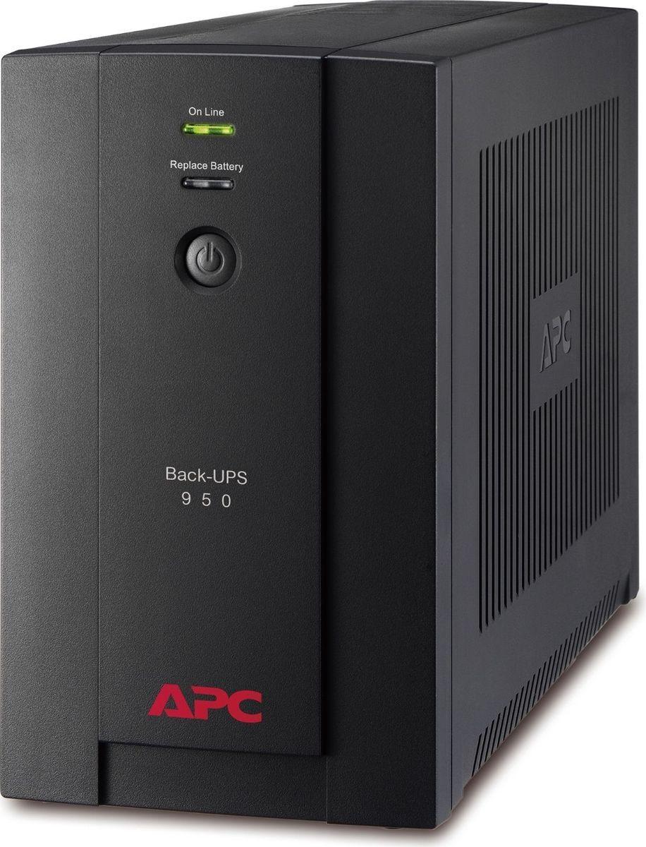 Источник бесперебойного питания APC Back-UPS BX950U-GR, черный