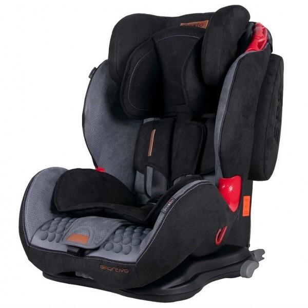Автокресло Coletto Sportivo Isofix Grey/Black