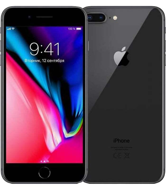 Смартфон Apple iPhone 8 Plus восстановленный 3/64GB, черный