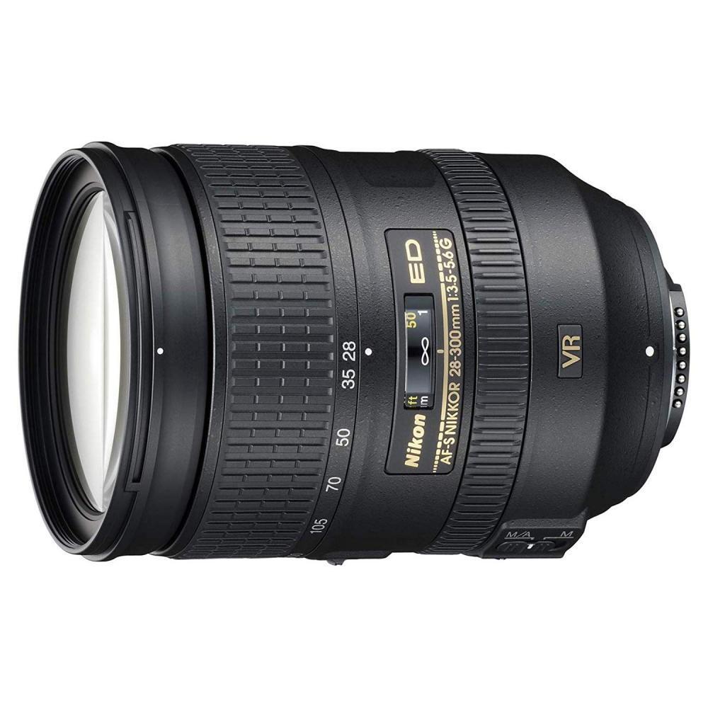 Nikon high magnification zoom lens AF-S NIKKOR 28-300mm f / 3.5-5.6G ED VR full size corresponding