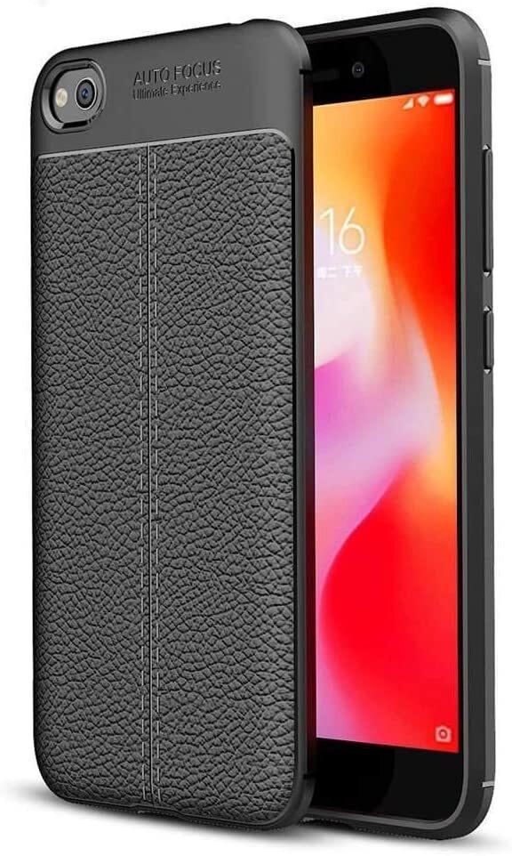 """Защитный чехол """"Auto Focus"""" для Xiaomi Redmi GO, Черный"""