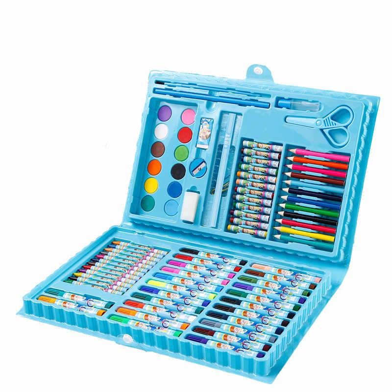 """Набор для рисования """"Чемоданчик юного художника"""", ASMAR, 86 предметов, голубой"""