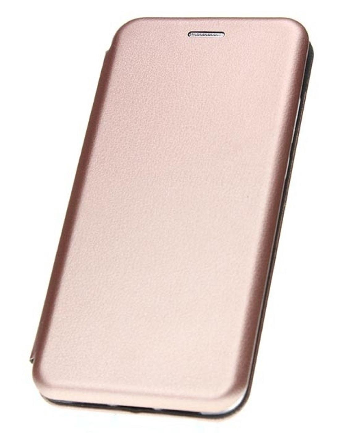 Чехол-книжка для Samsung Galaxy S20 FE Розово-золотистая