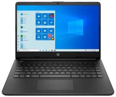 "14"" ноутбук hp 14s-dq1034ur (22m82ea), черный"