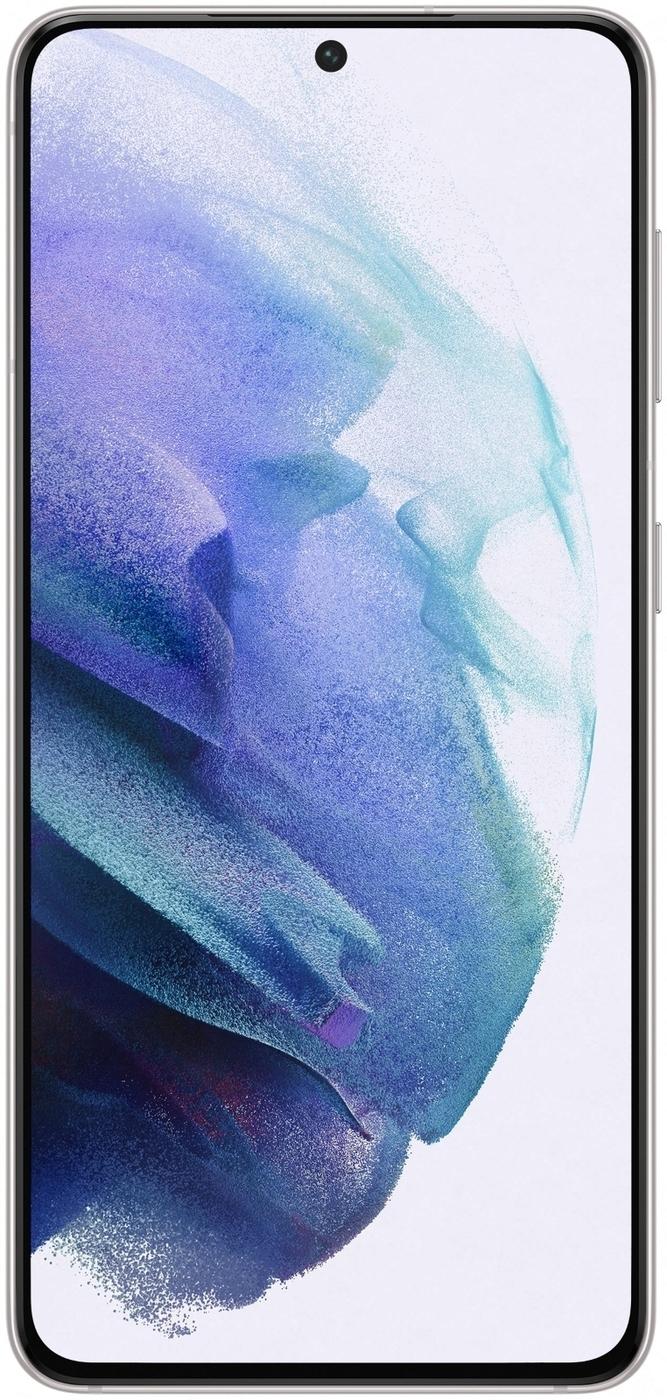 смартфон samsung galaxy s21  8/128gb, фиолетовый фантом. уцененный товар