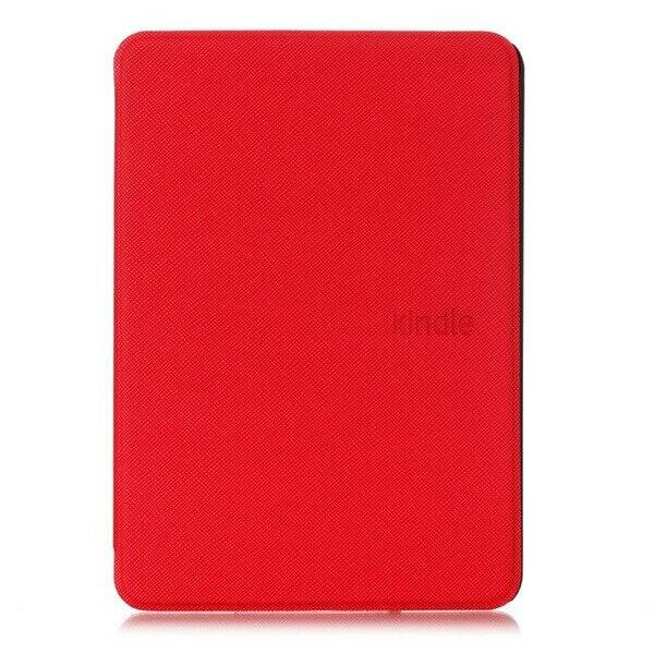 чехол-обложка skinbox ultraslim для amazon kindle 10 с магнитом (красный)