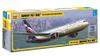 Сборная модель Пассажирский авиалайнер Боинг 767-300 - изображение