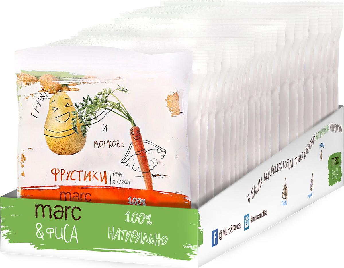 Фрустики Marc&Фиса груша и морковь, БЛОК 18 пак х 15 гр #1