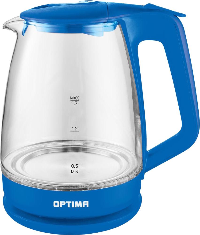 Электрический чайник Optima EK-1718G, голубой #1