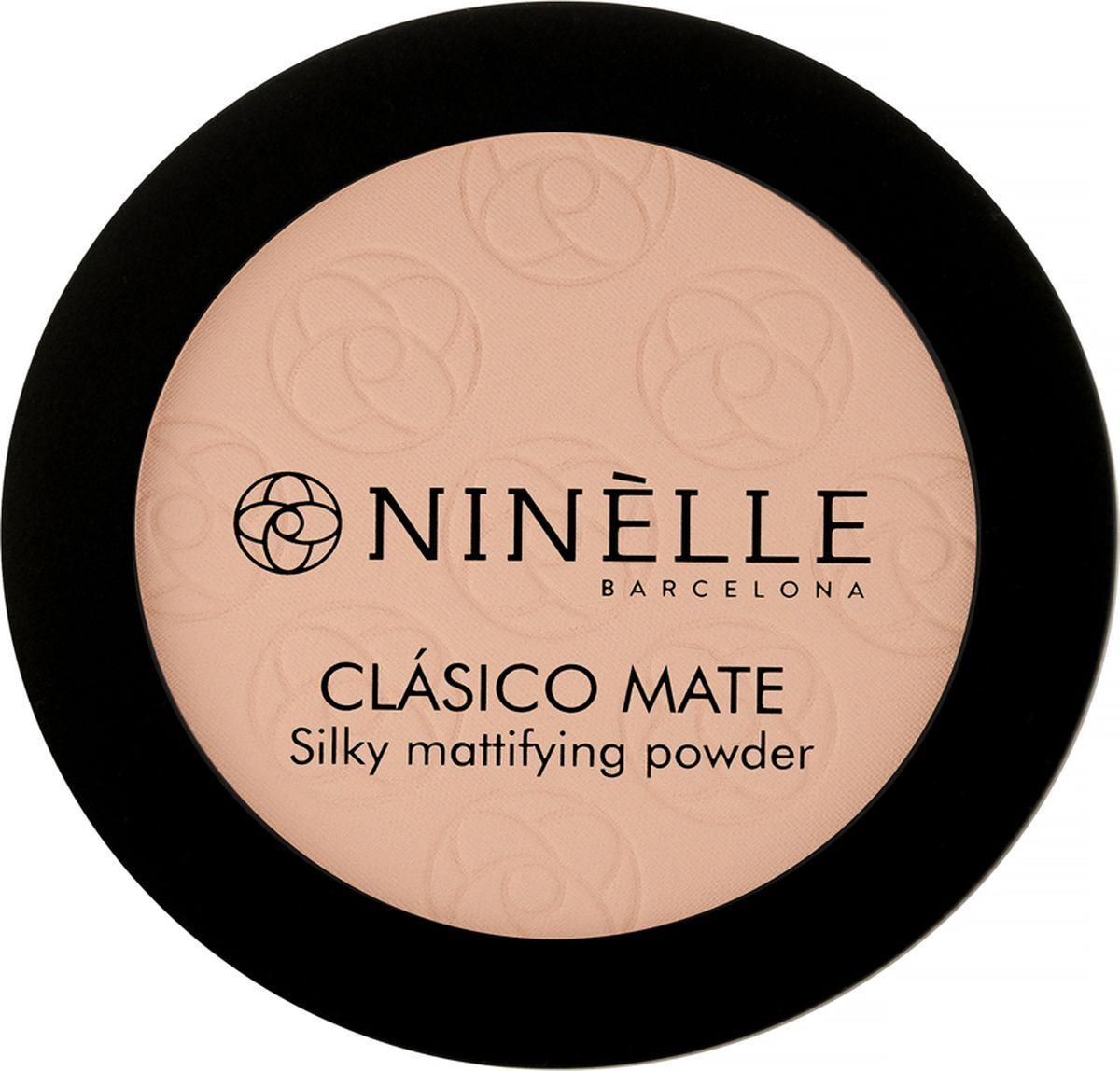 Пудра для лица Ninelle Clasico Mate, легкая, матовая, №202 #1