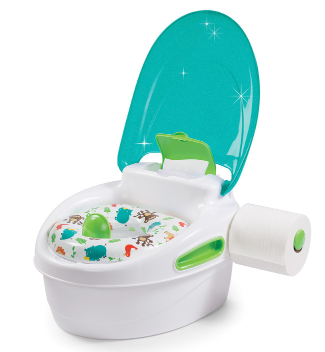 Горшок 3 в 1 Summer Infant Step-By-Step Potty бирюзовый #1