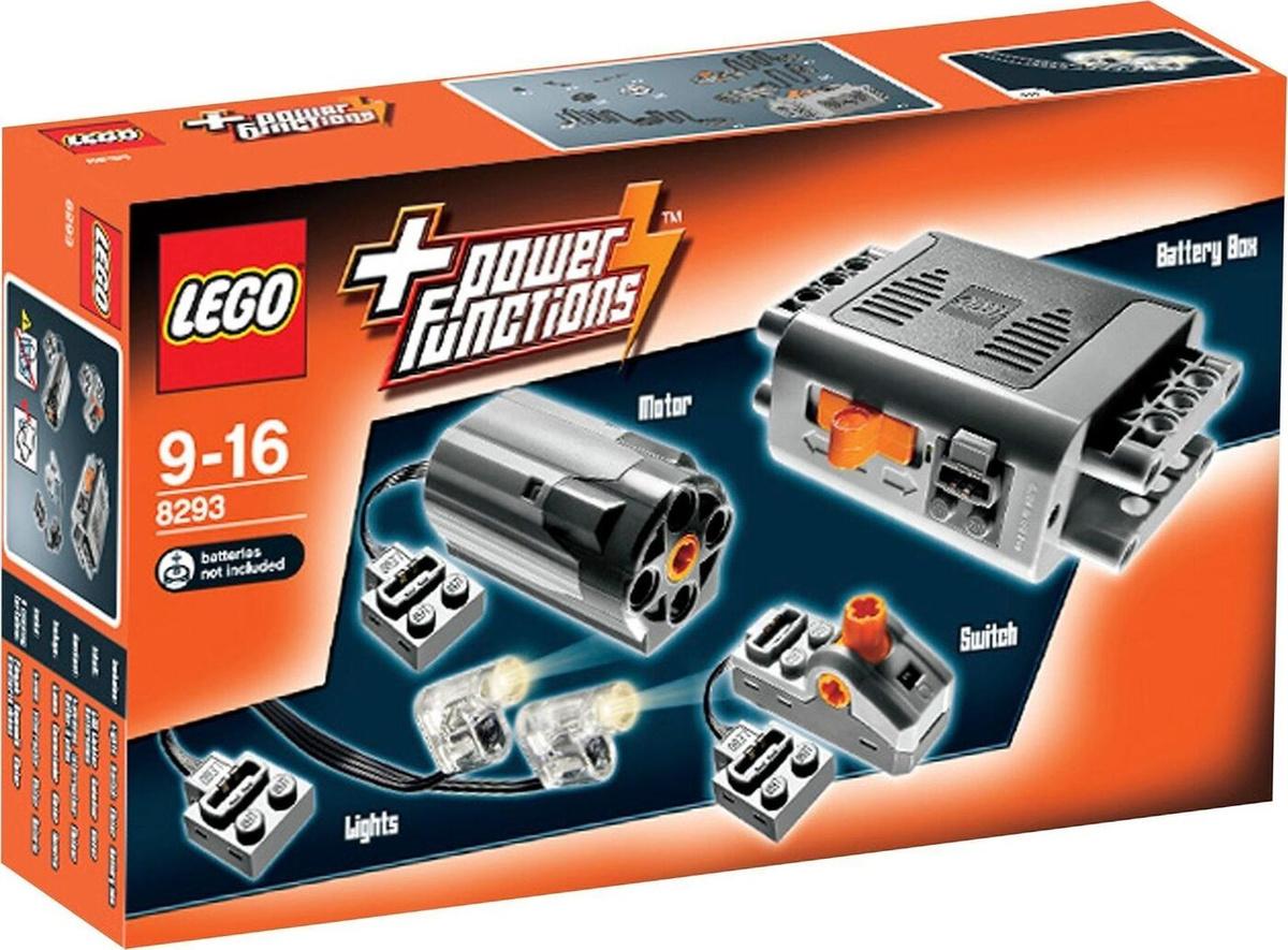 Конструктор LEGO Technic 8293 Набор с мотором Power Functions #1