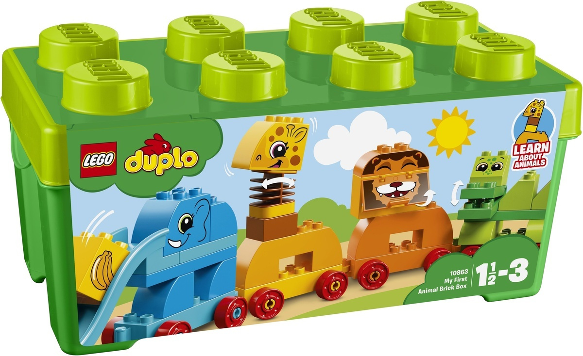 Конструктор LEGO DUPLO Creative Play 10863 Мой первый парад животных  #1