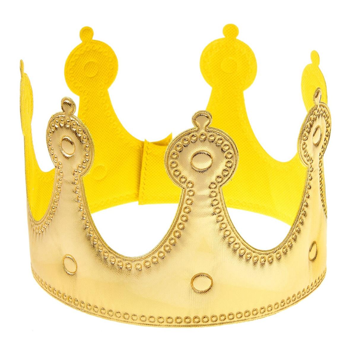 """Корона Страна Карнавалия """"Принцесса"""" золотая #1"""