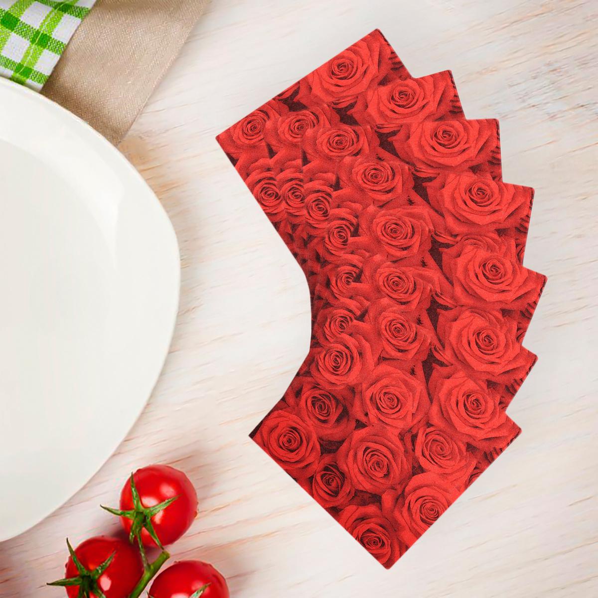 Салфетки бумажные сервировочные Страна Карнавалия 335458 Бумага 33x33см, 20шт.  #1