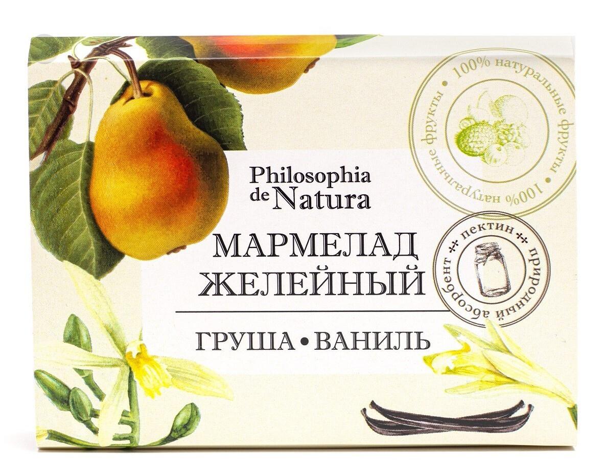 """Мармелад желейно-фруктовый """"Груша-Ваниль"""" Philosophia de Natura #1"""