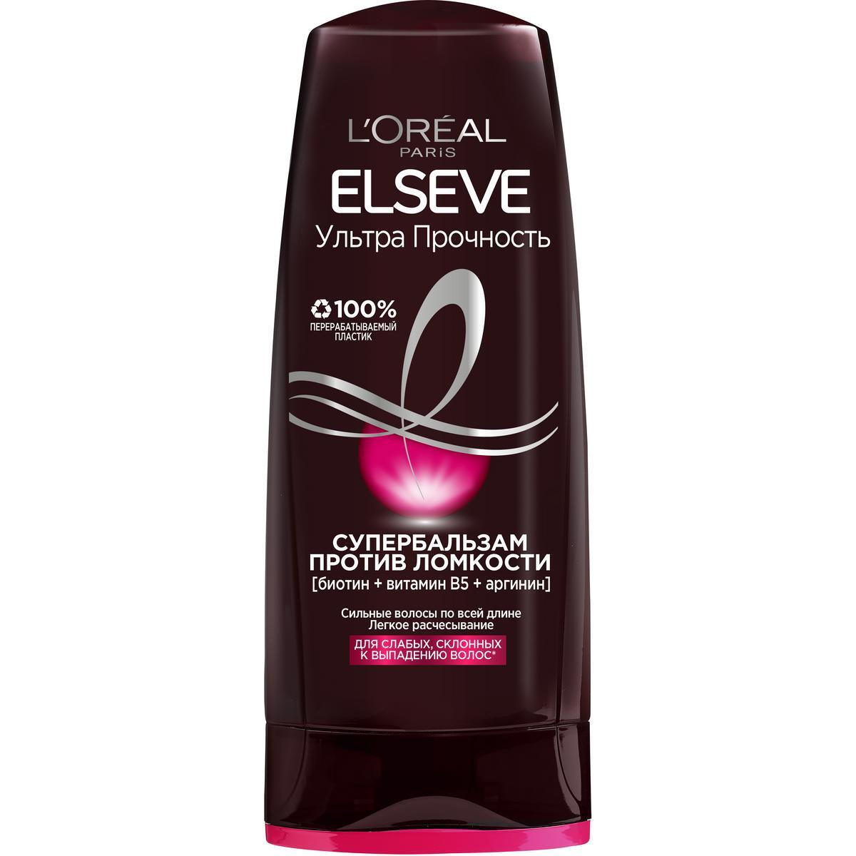 L'Oreal Paris Elseve Ультра Прочность Супербальзам против ломкости волос, 200 мл  #1