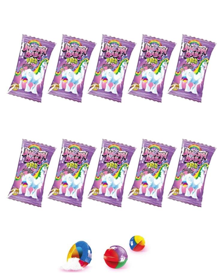 Леденцы с начинкой Яйца Единорога Unicorn Balls Fini 5 гр. (10 шт) #1