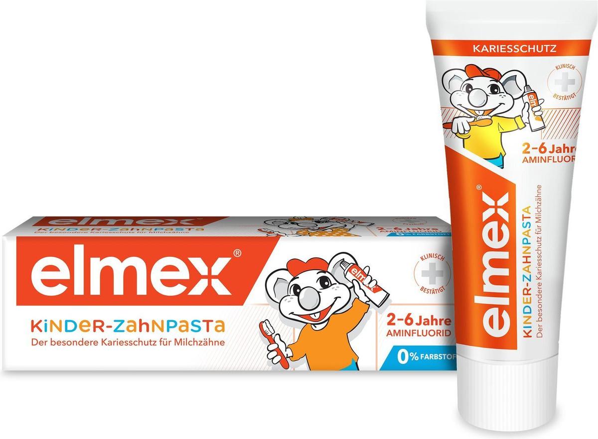 Зубная паста Elmex, для детей от 2 до 6 лет, 50 мл #1