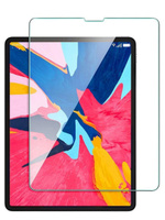 Защитное стекло для планшета Apple iPad Air 4 10.9 (2020) / Apple iPad Pro 11 (2018) / Apple iPad Pro 11 (2020) / Усиленное защитное стекло с противоударной закалкой 9H, ONLY CASE, прозрачное, толщина 0.3 мм, 2.5D, полная проклейка. Аксессуары для смартфонов