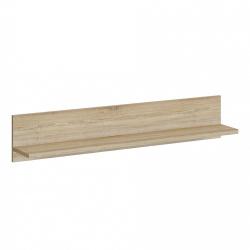 Полка Мебельная Фабрика 1+1 Настенная Прямая навесная Салоу-900, 90х20х20 см, 1 шт.. Салоу