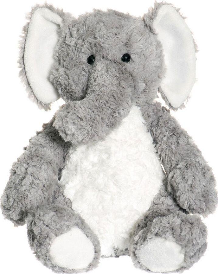 Мягкая игрушка Teddykompaniet Слоник Элиас, сидящий, 23 см
