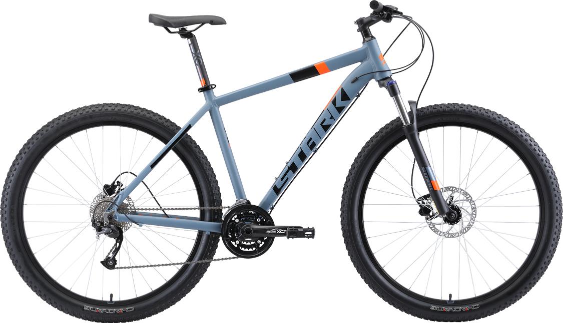 Велосипед STARK Funriser 29.4+ HD 2019 20 серый/оранжевый