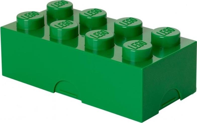 Ящик для хранения 8 LEGO зеленый