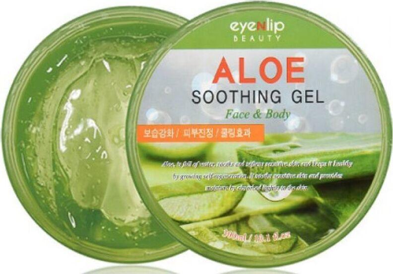 Универсальный успокаивающий гель с алое Eyenlip Aloe Soothing Gel, 300 мл the skin house aloe soothing vitamin gel ночной витаминный крем гель с алое 50 мл