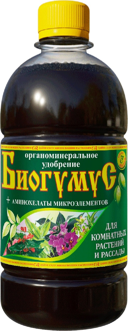 Биогумус Сила жизни для овощей и томатов 0,5л