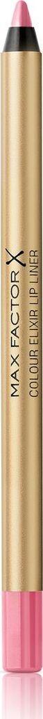 Max Factor Карандаш для губ Colour Elixir Lip Liner, тон №02 pink petal, цвет: светло-розовый