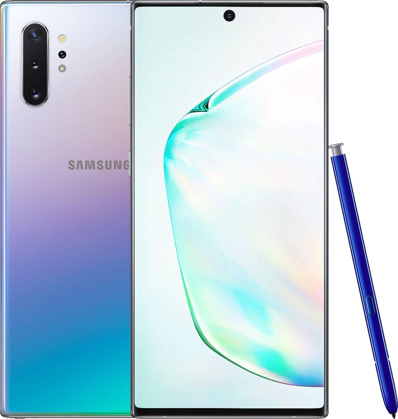 Смартфон Samsung Galaxy Note10+ 12/256GB, серебристый