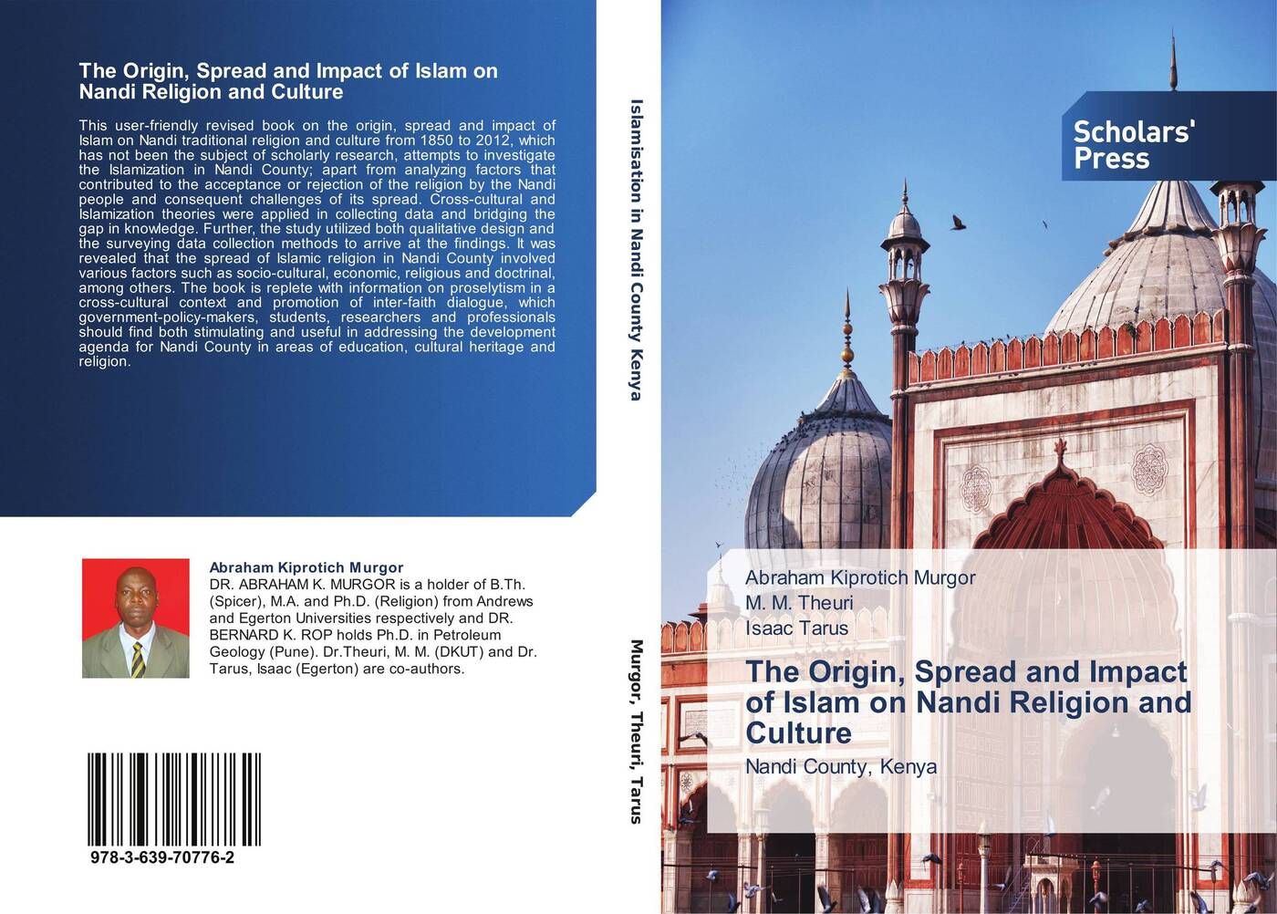 Abraham Kiprotich Murgor,M. M. Theuri and Isaac Tarus The Origin, Spread and Impact of Islam on Nandi Religion and Culture nandi eckerson talkin to a man