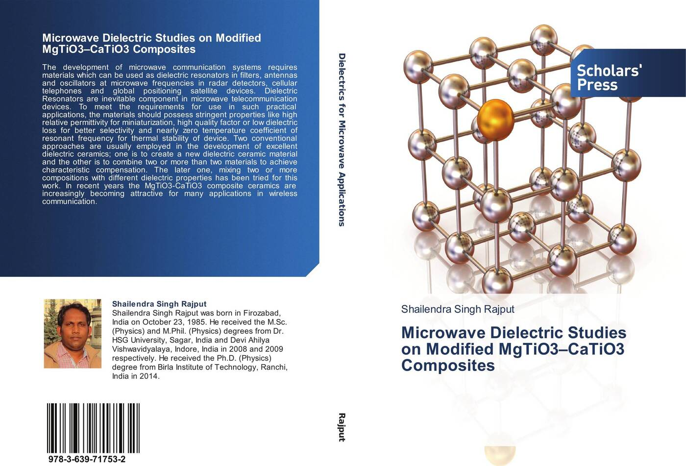 Shailendra Singh Rajput Microwave Dielectric Studies on Modified MgTiO3-CaTiO3 Composites magnetic and dielectric properties of materials