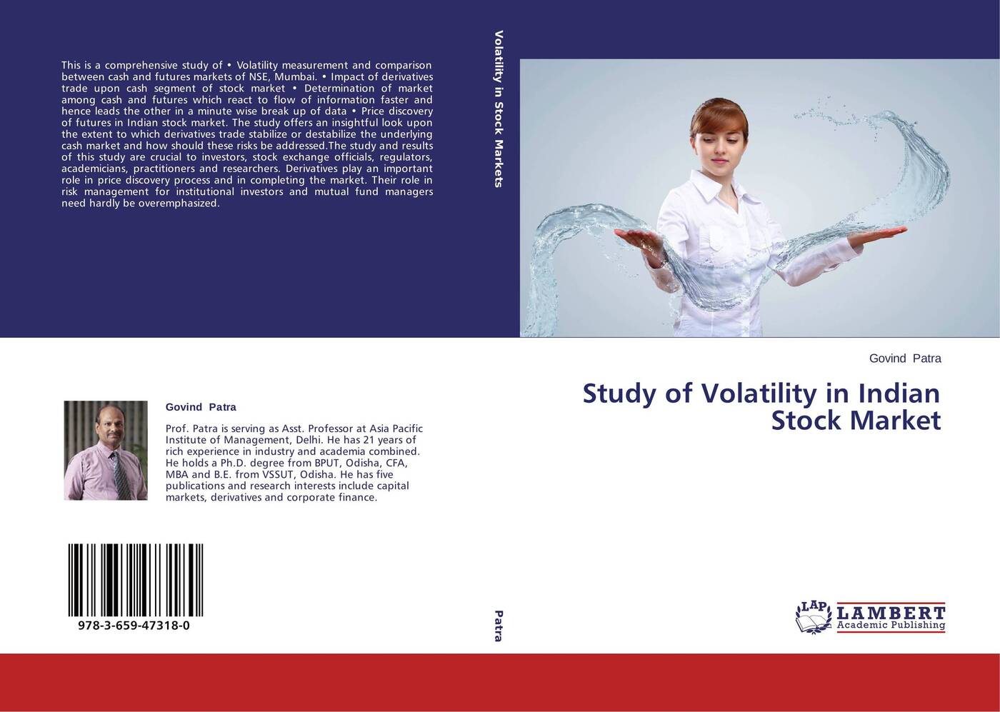 Govind Patra Study of Volatility in Indian Stock Market gordon peery f the post reform guide to derivatives and futures isbn 9781118205402
