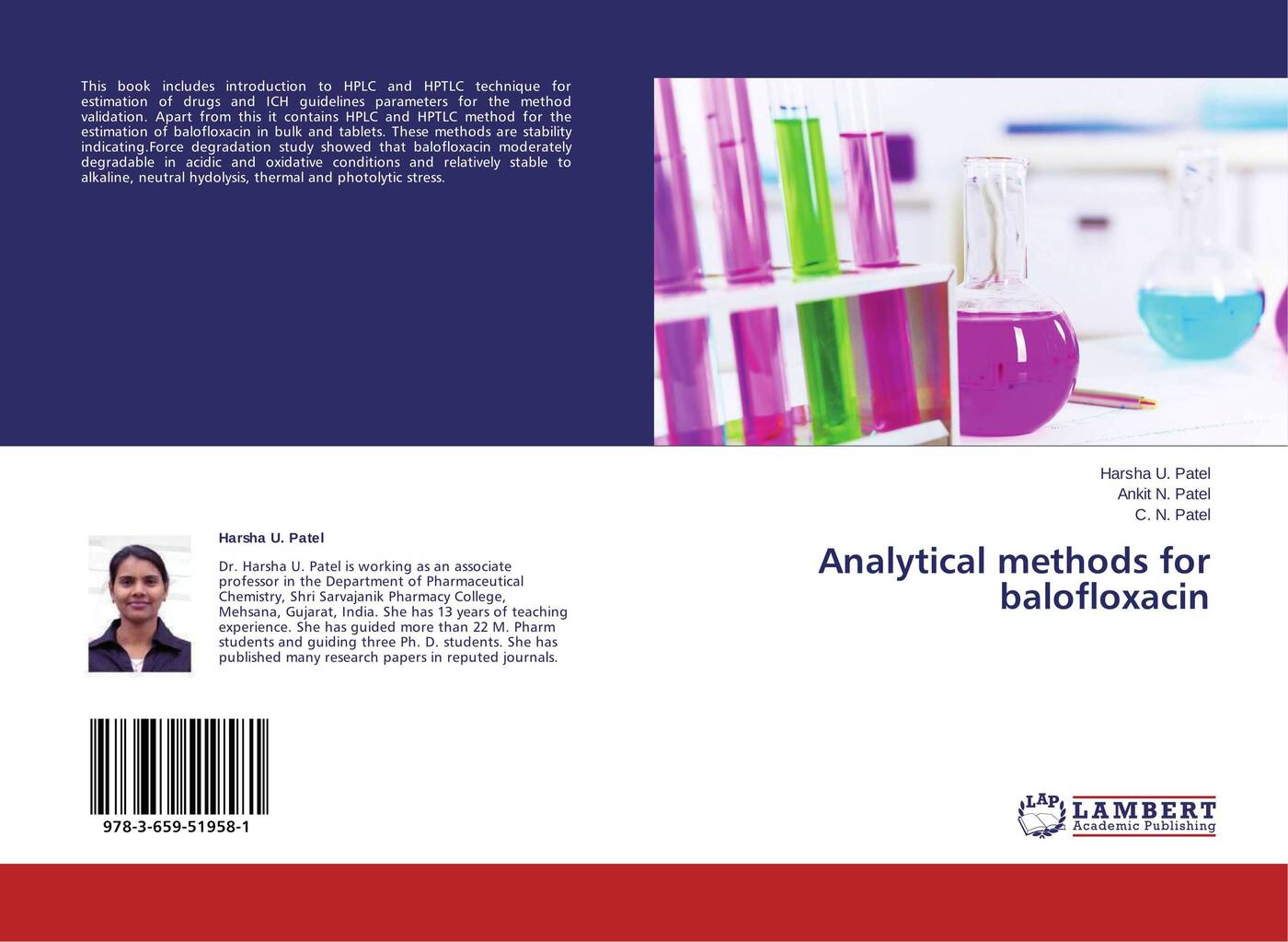 где купить Harsha U. Patel,Ankit N. Patel and C. N. Patel Analytical methods for balofloxacin недорого с доставкой