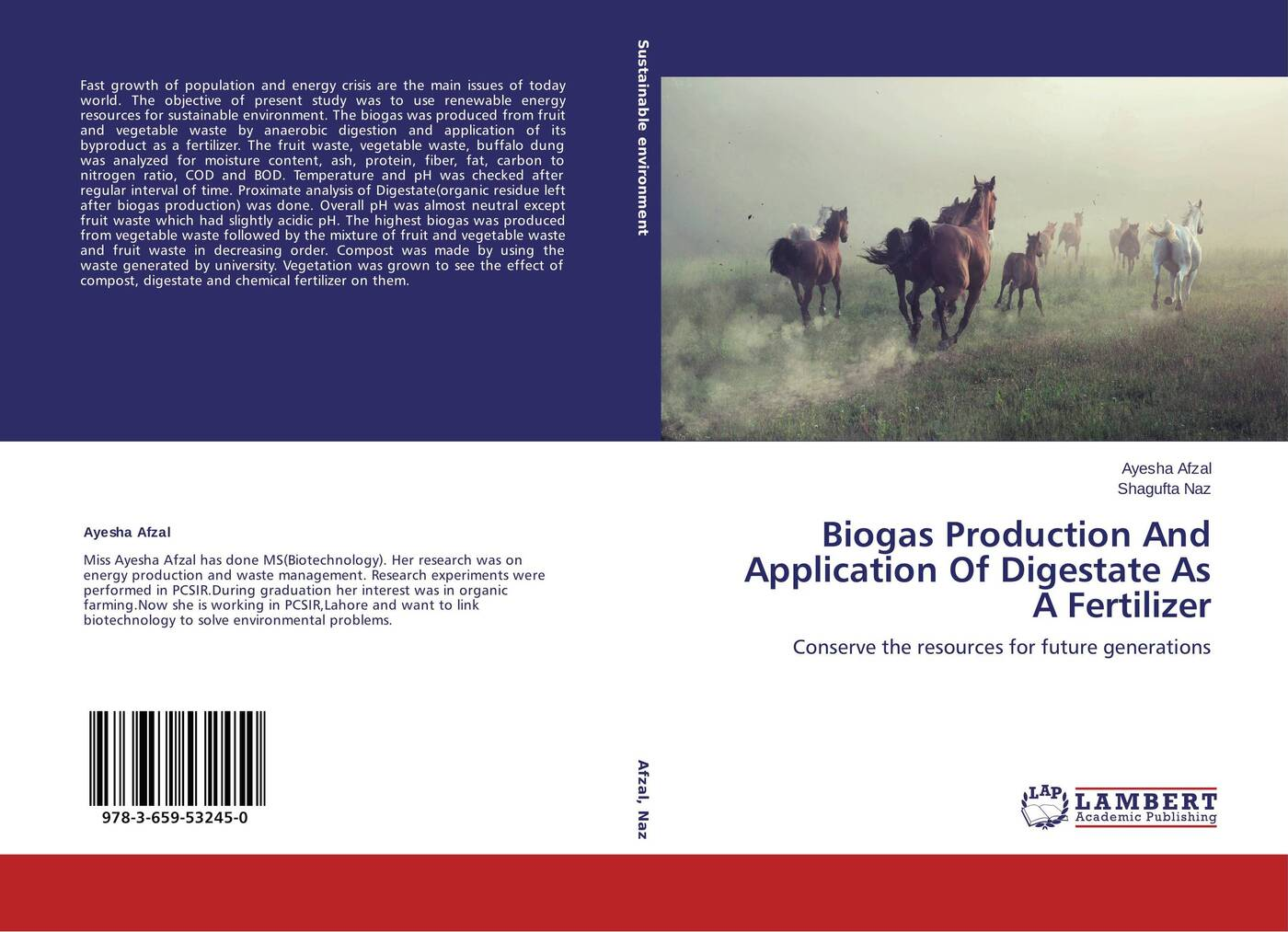 Ayesha Afzal and Shagufta Naz Biogas Production And Application Of Digestate As A Fertilizer evelyn pena felix it was not a waste of time