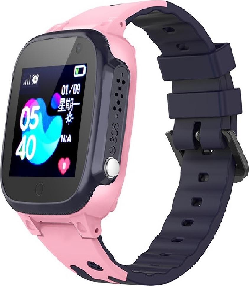 Детские GPS часы Nuobi Q15, Розовые