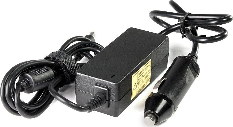 Автоадаптер в машину для нетбука Samsung NC10, NC20 (19V - 2.1A ) (5.0x3.0mm с иглой) 40W цена и фото