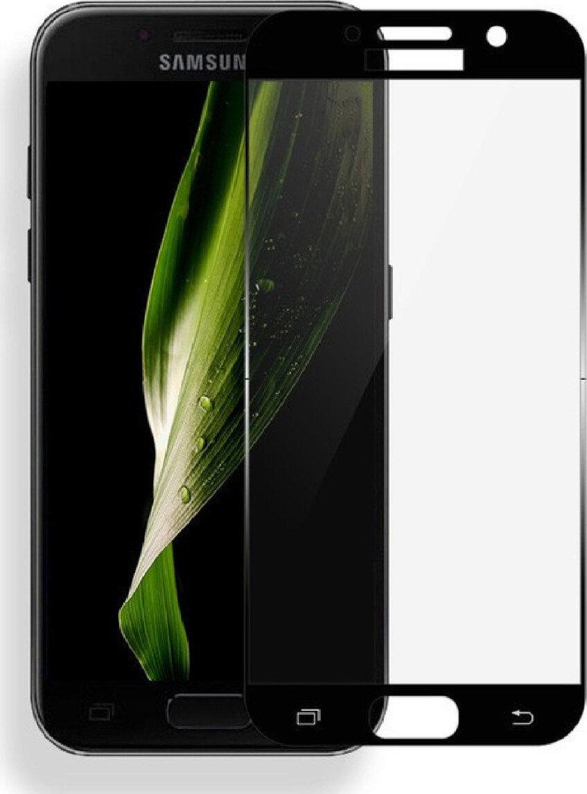 Полноприклеивающееся защитное стекло для Samsung Galaxy J3 2017 (J330)