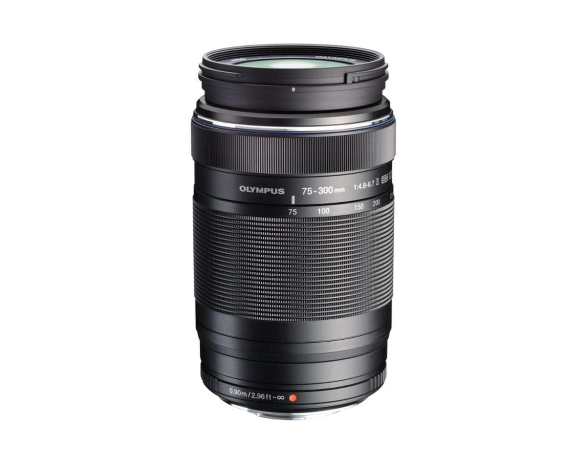 Объектив Olympus M.Zuiko Digital ED 75-300mm F4.8-6.7 II, черный