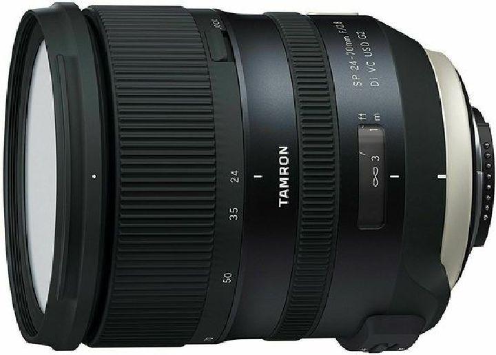 Объектив Tamron SP 24-70mm f/2.8 Di VC USD G2 для Nikon, черный