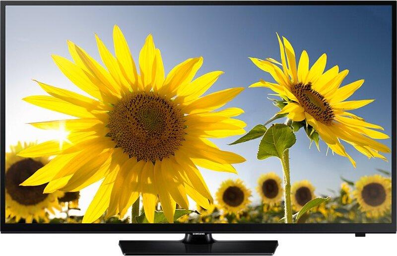 "HD Телевизор Samsung UE24H4070AUXRU 24"", черный"